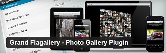 Grand Flagallery - web development