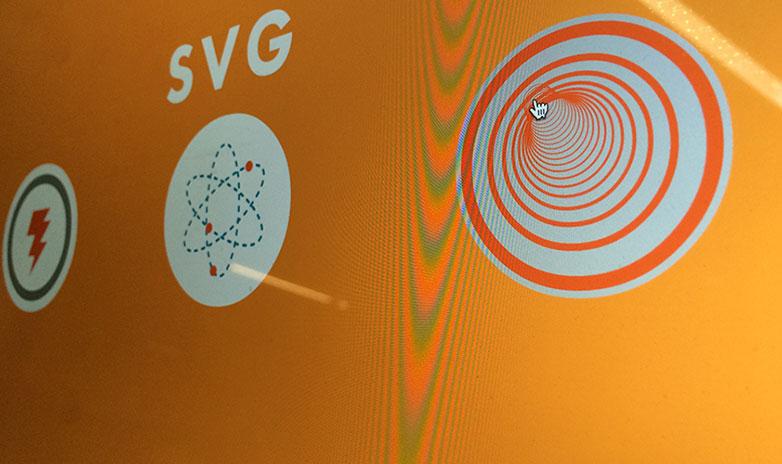 SVG是可缩放矢量图形是基于可扩展标记语言