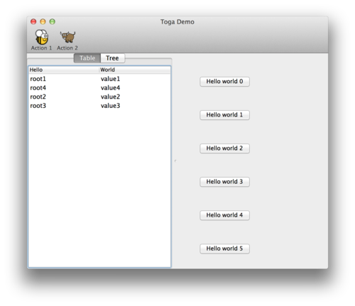 Python 原生的 GUI 工具包 Toga