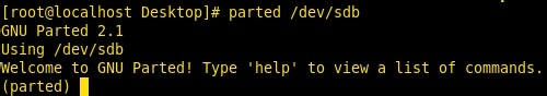 linux如何对大容量硬盘进行分区