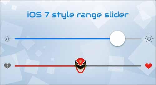Powerange iOS 7 Style Range Slider
