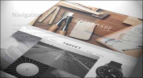 Tilted Content Free jQuery Slideshow Plugin