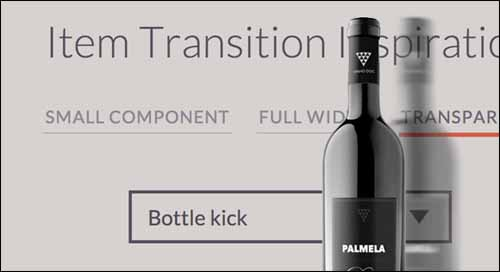 Inspiration for Item Transitions Free jQuery Sliders