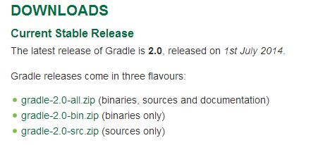 【Java】Eclipse搭建Gradle环境