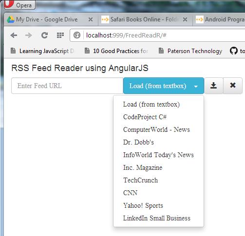 使用AngularJS 创建的RSS 阅读器—— FreedReadR - OSCHINA