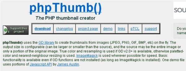 PHP Thumb