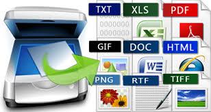 OCR扫描支持多种格式
