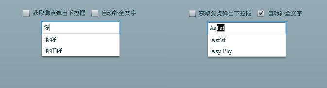 Flex文本框自动提示(AutoSuggest)、自动完成(AutoComplete)