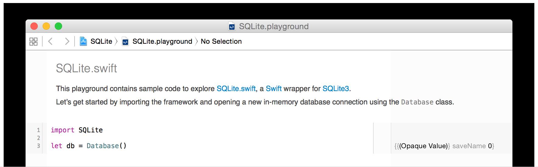 SQLite.swift