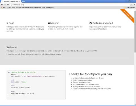 RoboSpock Android mobile testing tool