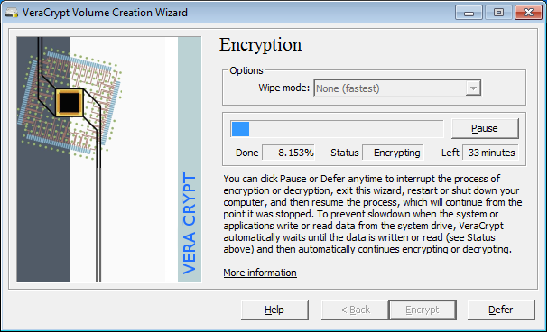 VeraCrypt Partition Encryption