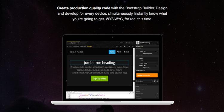 Divshot - Bootstrap Builder