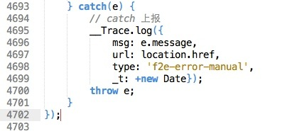 code line