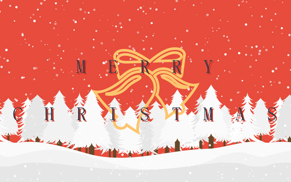 HTML5动画圣诞节飘雪花特效