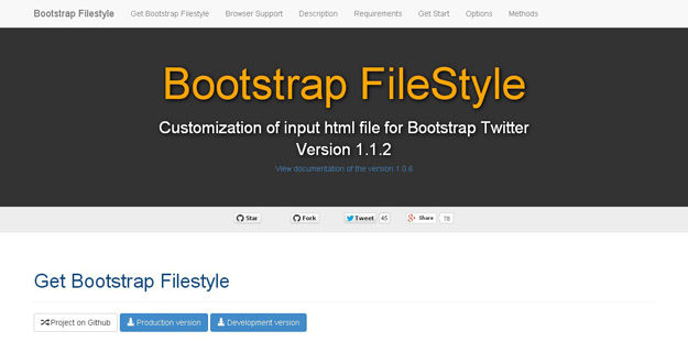 bootstrap file style