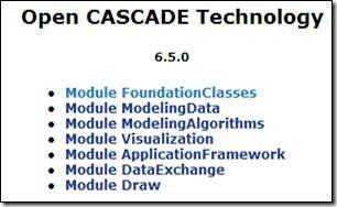 OCCT Modules