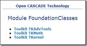 Toolkits of Foundation Classes
