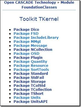 Package of Toolkit TKernel