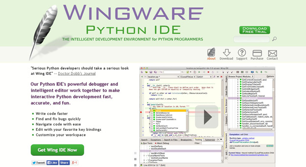 wingware python ide