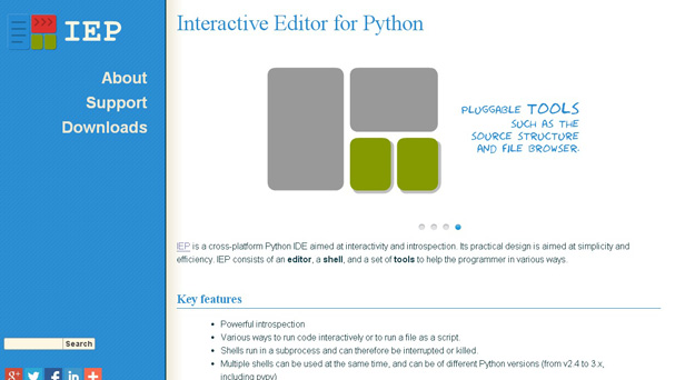 Interactive Editor for Python