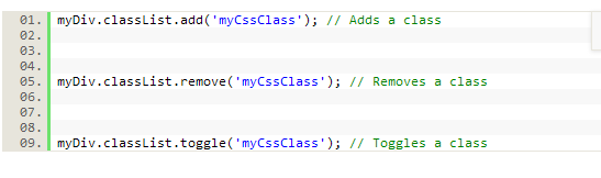JS和CSS交互