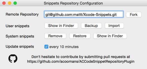ACCodeSnippetRepositoryPlugin