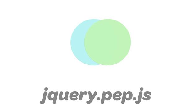 jquery pepjs