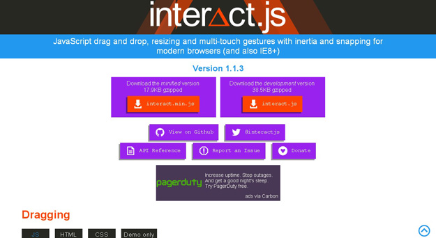 interactjs