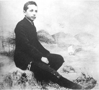 少年爱因斯坦