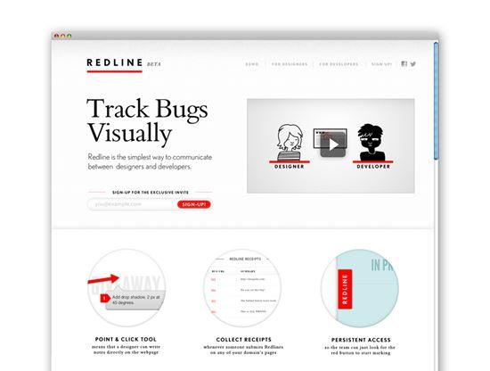 Redline bug tracker