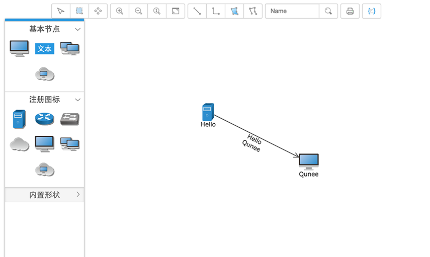 graph editor - hello