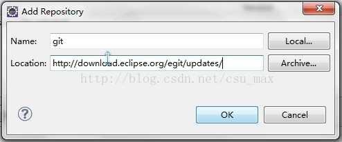 【eclipse下使用git上传(下载)代码至(从)github】1