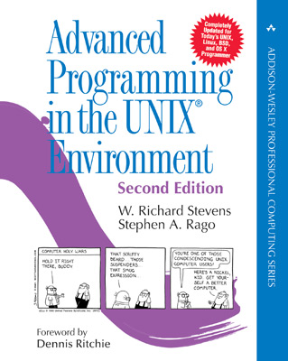 Avanced Programming in the Unix Environment by Stevens et al