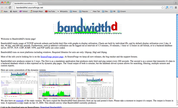 best free networking tools for system administrator in 2015  - bandwidthd