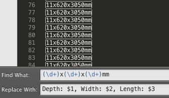 sublime<wbr>text2中使用正则表达式查找替换