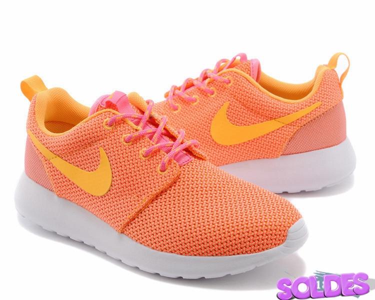 roshe run femme orange