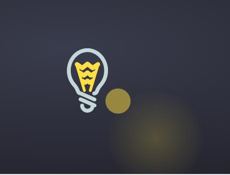 纯CSS3和SVG鼠标滑过灯泡发光特效