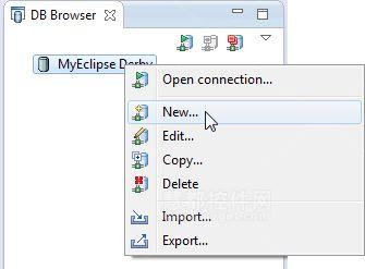 MyEclipse的数据库工具