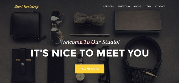 Agency - free bootstrap templates