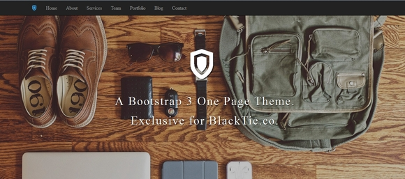 Shield - free bootstrap templates
