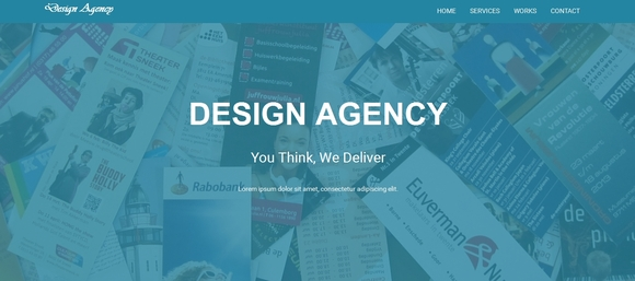 Design Agency - free bootstrap templates