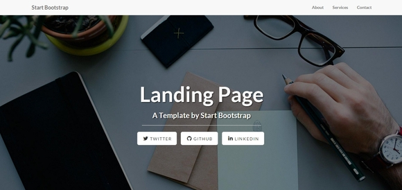 Landing Page - bootstrap templates 2015