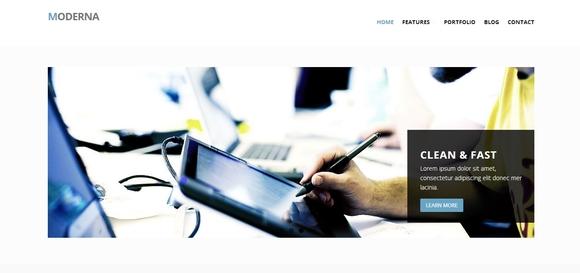 Moderna - html5