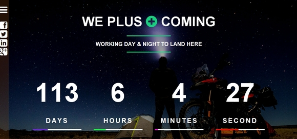 We+ Coming - templates