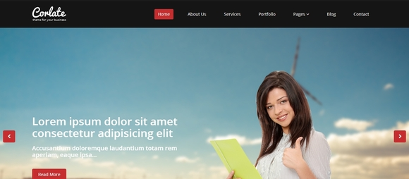 40 个免费 Bootstrap HTML5 网站模板