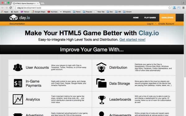 best HTML5 and javascript game engine libraries  - clay