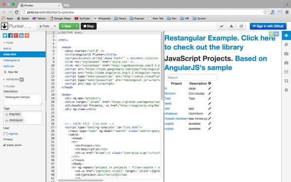 best angularJS tools for web developers for 2015  - restangular