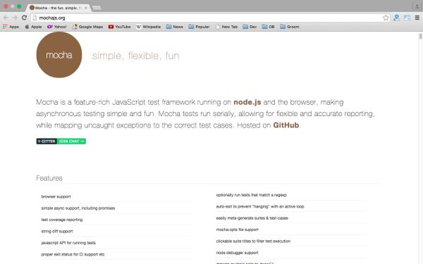 best angularJS tools for web developers for 2015 - mochajs