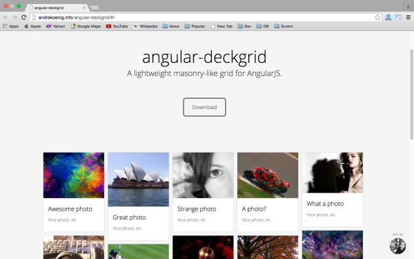 best angularJS tools for web developers for 2015 angular-deckgrid