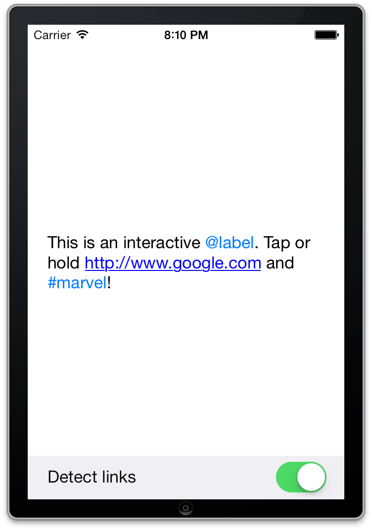 KILabel Screenshot